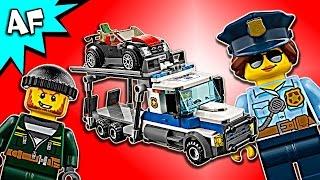 getlinkyoutube.com-Lego City Police AUTO TRANSPORT HEIST 60143 Speed Build