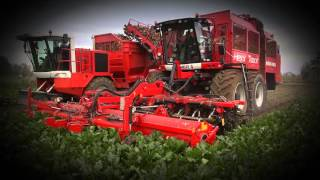 The new Holmer Exxact HexxTraxx sugar beet harvester from Rovers (NL)