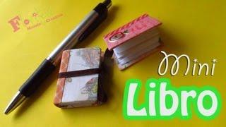 getlinkyoutube.com-Como hacer un Mini Libro reciclado para el día del maestro - floritere - 2013