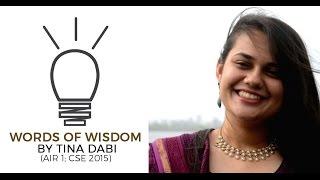 getlinkyoutube.com-AIR 1 Tina Dabi's Words of Wisdom for UPSC CSE Preparation - Unacademy