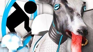 getlinkyoutube.com-PORTAL IN GOAT SIM! - Goat Simulator Waste of Space DLC - Part 4 | Pungence