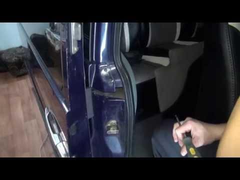 Mercedes Vito Снимаем боковую дверь.(Door Removing.)