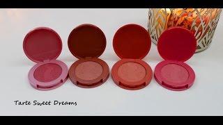 getlinkyoutube.com-Tarte Sweet Dreams Blush Set!!