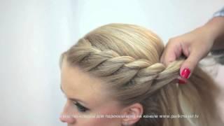 getlinkyoutube.com-Мастер-класс «Техника плетения кос» How to do braiding