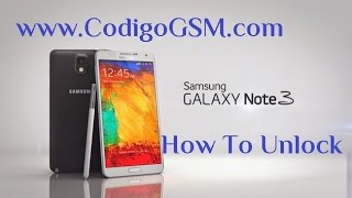 getlinkyoutube.com-Galaxy Note 4 How to Unlock T Mobile AT&T N910T N910A