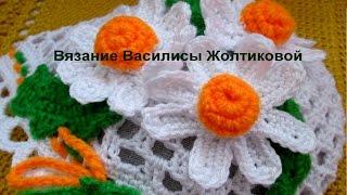 getlinkyoutube.com-Аппликация Ромашка