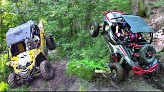 getlinkyoutube.com-Yamaha YXZ Redemption Ride - RZR XP 1000 vs YXZ 1000 - UTV Trail Riding