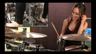 getlinkyoutube.com-THE POLICE - ROXANNE - DRUM COVER BY MEYTAL COHEN