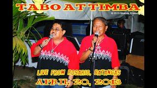 Tabo at Timba live from Rosario, Batangas