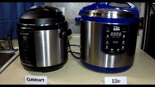 getlinkyoutube.com-Comparing Cuisinart and Elite Pressure Cooker Review
