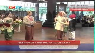 Wisuda Sarjana, Pascasarjana dan Doktor ISI Surakarta 2016