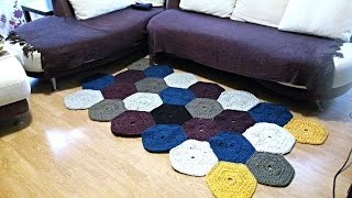 getlinkyoutube.com-How To Create A Stunning Multicolor Large Carpet - DIY Home Tutorial - Guidecentral