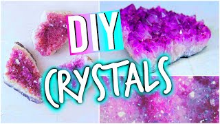 getlinkyoutube.com-DIY Room Decorations: Tumblr Inspired Crystals!