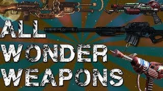 All Call Of Duty Zombies Wonder Weapons (WAW-BO2)