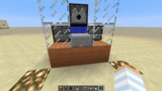 getlinkyoutube.com-Minecraft Poradnik: Mała i mocna armata TNT 3x3 !