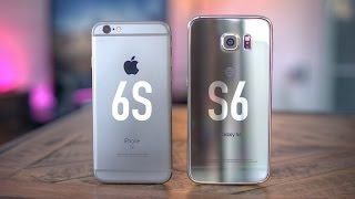getlinkyoutube.com-Apple iPhone 6s vs Samsung Galaxy S6!