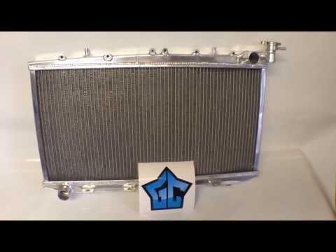 Алюминиевый радиатор Nissan Pulsar 50мм MT (www.tuningshop2 4.ru)