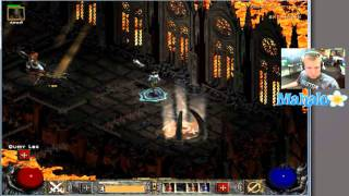 Diablo 2 Lord of Destruction - Paladin Walkthrough - Act 4.5 - Chaos Sanctuary and Diablo