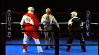 getlinkyoutube.com-Terry Creamer vs Kevin Thompson 1997 Battle of Atlanta Karate Tournament April Show