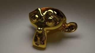 getlinkyoutube.com-【blender・初心者】綺麗なゴールドの設定【4分】