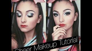 getlinkyoutube.com-Cheer Makeup Tutorial|Santanna Garcia