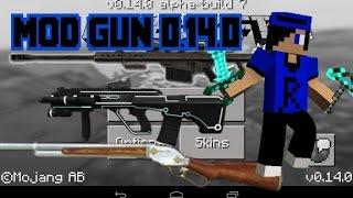 getlinkyoutube.com-วิธีลงมอดปืน Minecraft Pe 0.14.0  - รีวิว