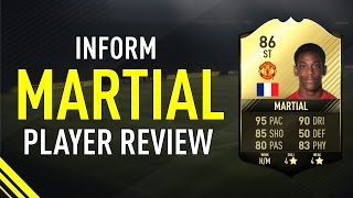 FIFA 17 SIF MARTIAL (86) PLAYER REVIEW width=