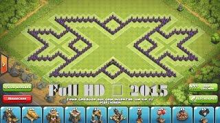 getlinkyoutube.com-Clash of Clans - Epic TH9 Triple xXx Farming Base ➞Speed Build