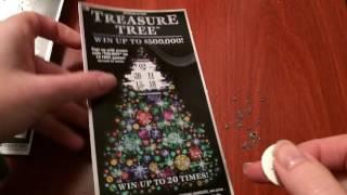 getlinkyoutube.com-$400 in Treasure Tree Tickets - $10 Scratch Off Lottery Tickets (10) Part 1