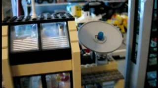 getlinkyoutube.com-Legotown TV Station Tour - A Tyler Lego Town Tour - Television News Team