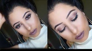 getlinkyoutube.com-Suede Rose Makeup Tutorial: Morphe 35T Palette