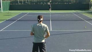 getlinkyoutube.com-Roger Federer Rallies in HD