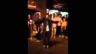 getlinkyoutube.com-سعودي يرقص في امريكا : ياندمانه
