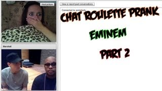 getlinkyoutube.com-Chatroulette. Eminem prank. Part 2.