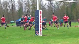 Liberty Rugby 2018 - Varsity vs Rainier 4-14-2018