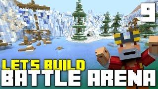 getlinkyoutube.com-Battle Mode Arena Let's Build!! (Part 9 - Minecraft Xbox One)