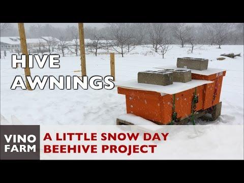 Beehive Snow Awnings - Winterization Tips