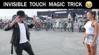 Touching Girls breasts using Magic Trick -Julien Magic