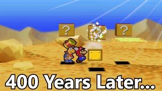 getlinkyoutube.com-Hitting this Block for 416 Years Crashes Paper Mario
