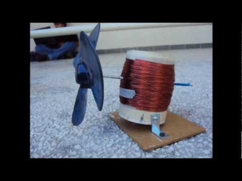 Generador Eólico Casero (proyecto)