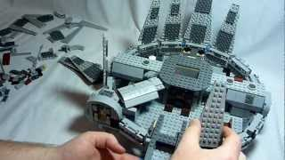 getlinkyoutube.com-Lego Millenium Falcon Star Wars 7965 Build