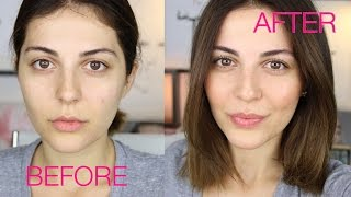 getlinkyoutube.com-How To: LOOK BEAUTIFUL WITH NO MAKEUP