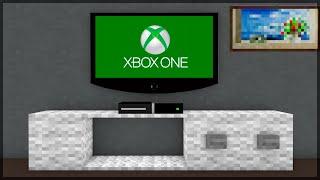 getlinkyoutube.com-Minecraft: É DIFÍCIL CONSTRUIR UM XBOX ONE! (BUILD BATTLE)