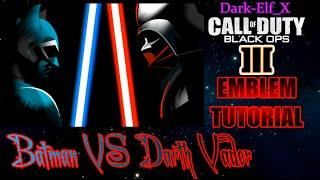getlinkyoutube.com-Black Ops 3 Emblem - Batman VS Darth Vader