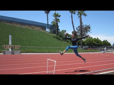 Track and Field Practice with Keinan Briggs  Ep.2