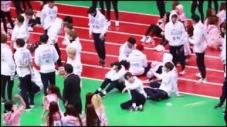getlinkyoutube.com-GFriend SinB & BTS Jungkook [SinKook] Moments-170116 ISAC