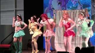 getlinkyoutube.com-Cosplay Sailor Disney Princesse Japan Expo Sud 2012