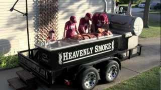 getlinkyoutube.com-Custom Built BBQ Smoker
