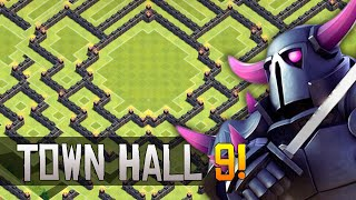 getlinkyoutube.com-Clash Of Clans - NEW UPDATE TH9 BASE BEST TOWN HALL 9 Defense 2015