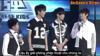 getlinkyoutube.com-[Vietsub TFBOYS cut] [09/7/2014] Power of Chinese kids